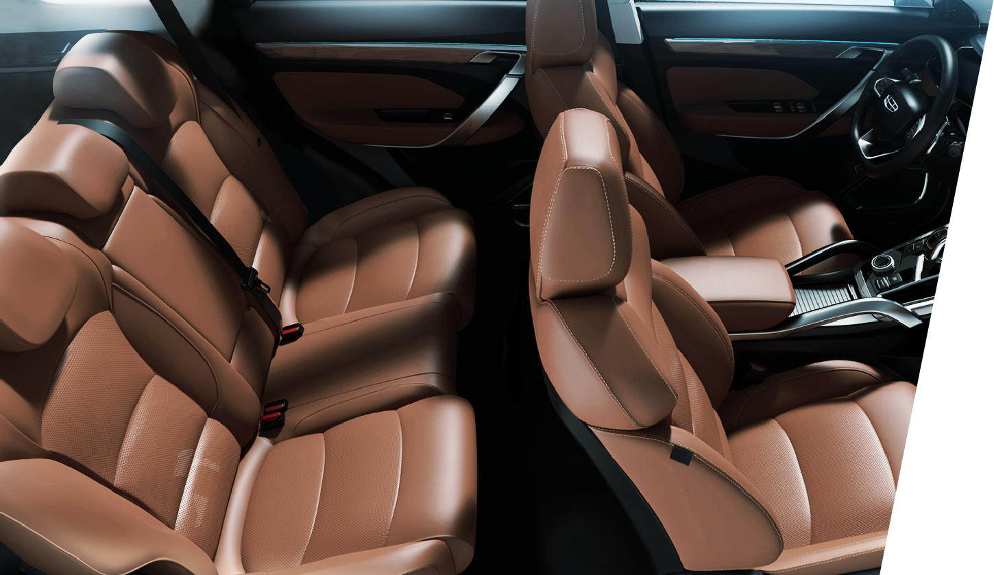 Your Refined Ride is Luxurious.